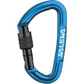 SALEWA Hot G3 Carabiner Screw, niebieski